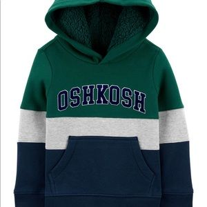 OshKosh Baby Colorblock Logo Fleece Hoodie